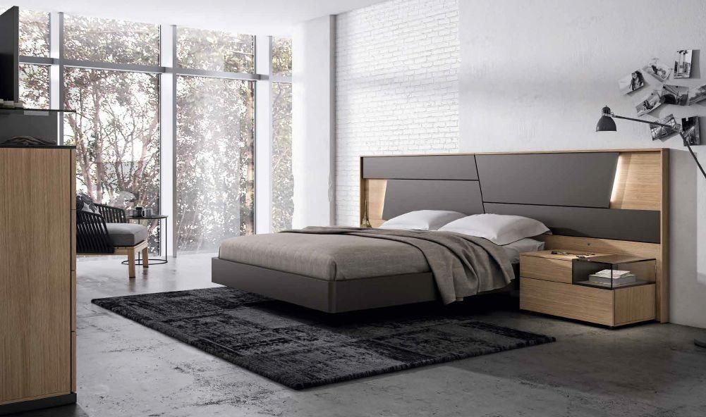 Modernūs miegamojo baldai Grafika Collage 004