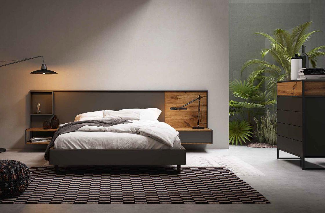Modernūs miegamojo baldai Grafika Ever 031
