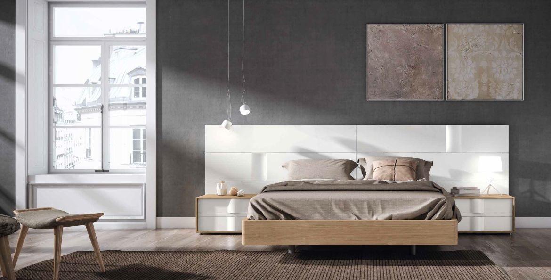 Modernūs miegamojo baldai Grafika Marea 010