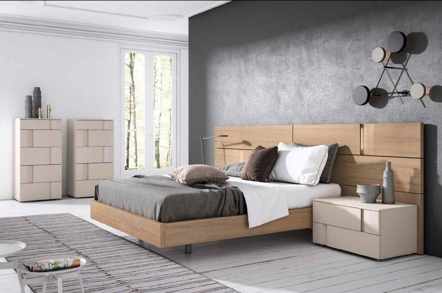 Modernūs miegamojo baldai Grafika Marea 011