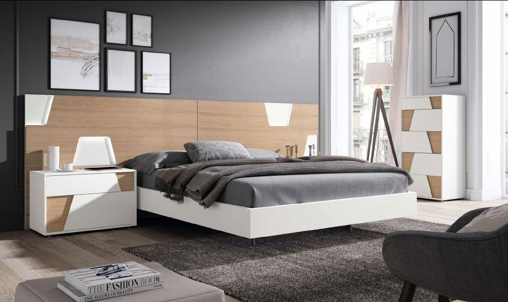Modernūs miegamojo baldai Grafika Urban 001