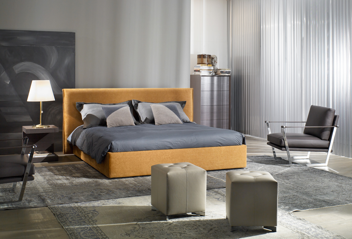 Modernūs miegamojo baldai Jersey 1