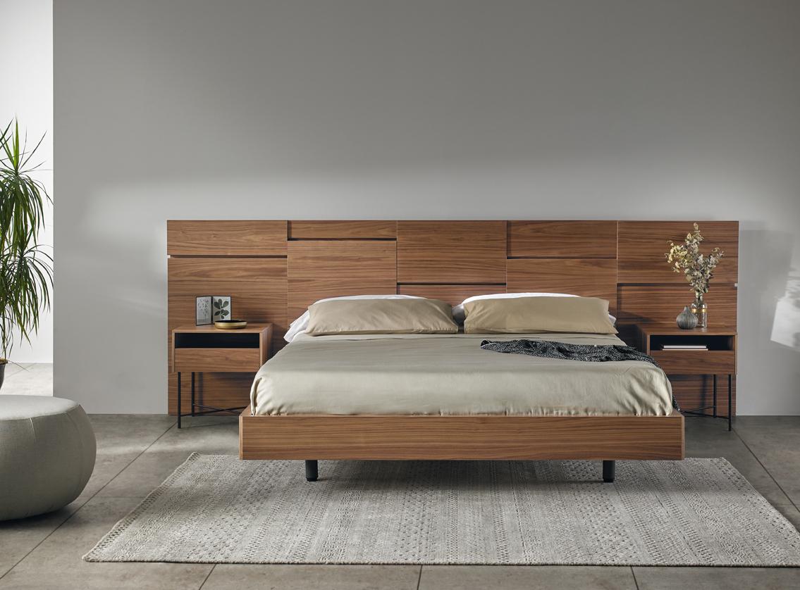 Modernūs miegamojo baldai Liin
