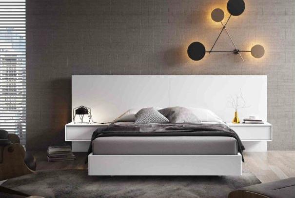 Modernūs miegamojo baldai Loft 02