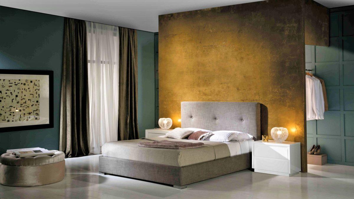 Modernūs miegamojo baldai Lourdes 2