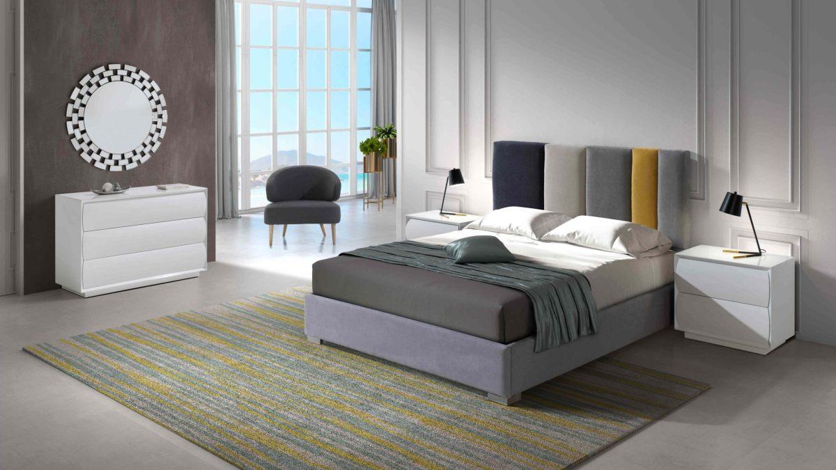 Modernūs miegamojo baldai Margot