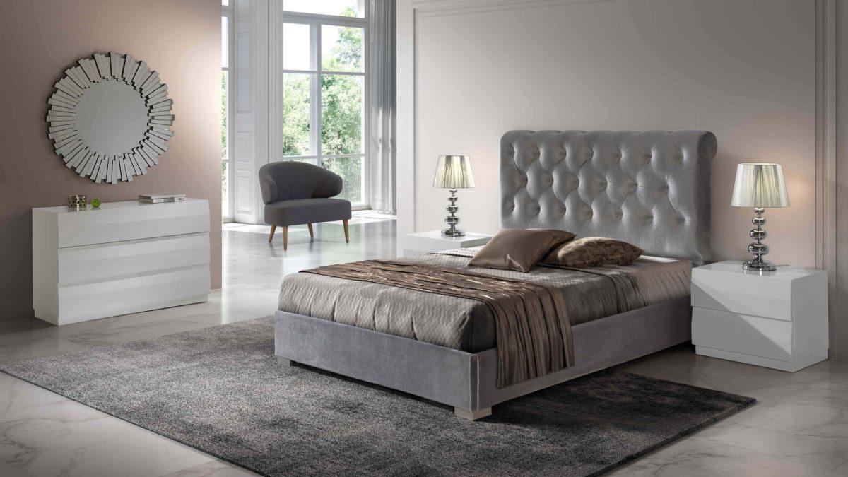 Modernūs miegamojo baldai Melisa