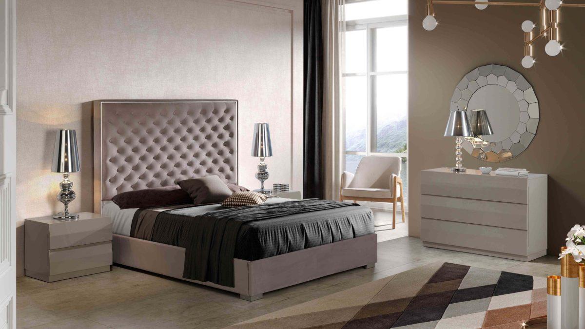Modernūs miegamojo baldai Melody