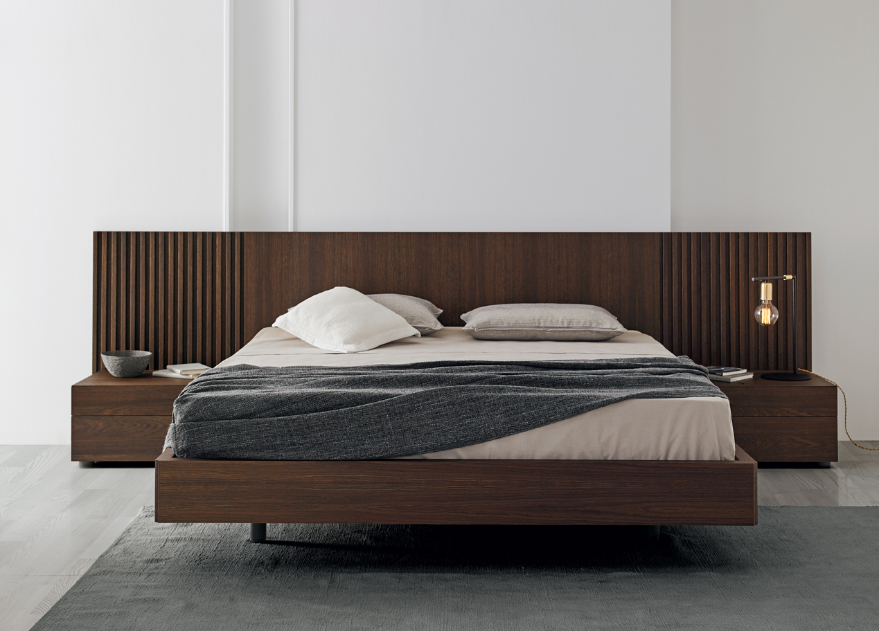 Modernūs miegamojo baldai Mies 2
