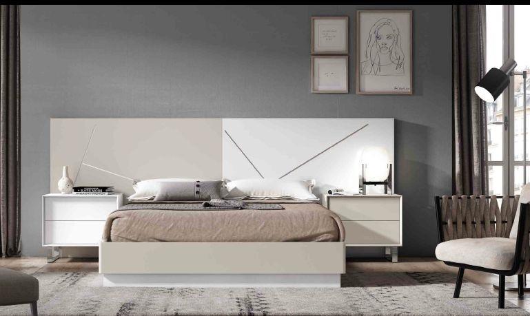 Modernūs miegamojo baldai Minimal 01