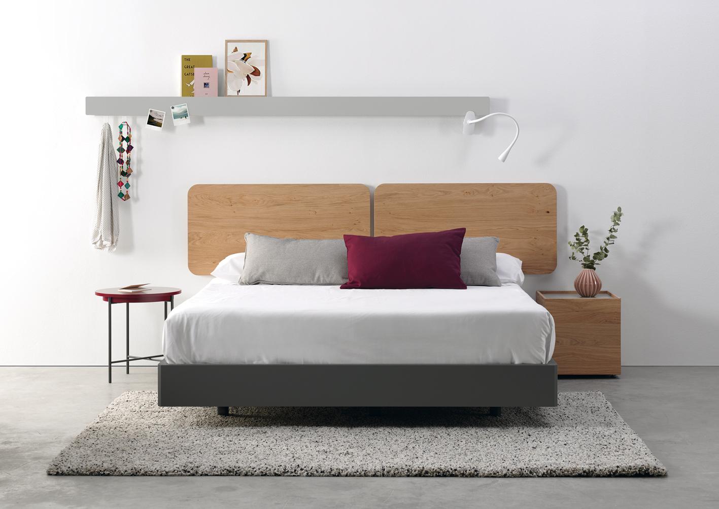 Modernūs miegamojo baldai Ona 5