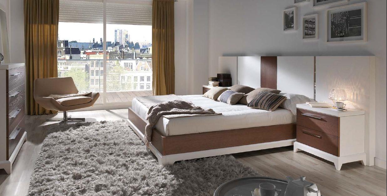 Modernūs miegamojo baldai Oslo