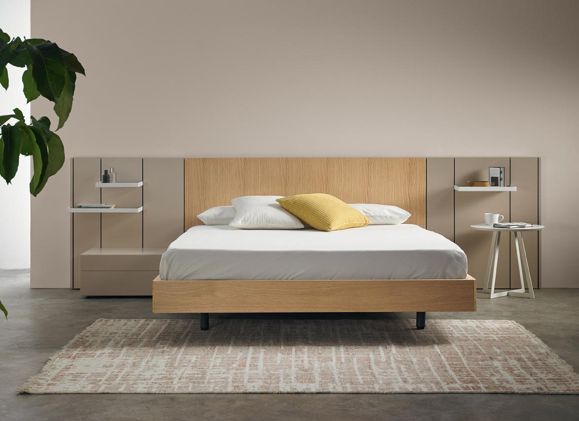 Modernūs miegamojo baldai Pars