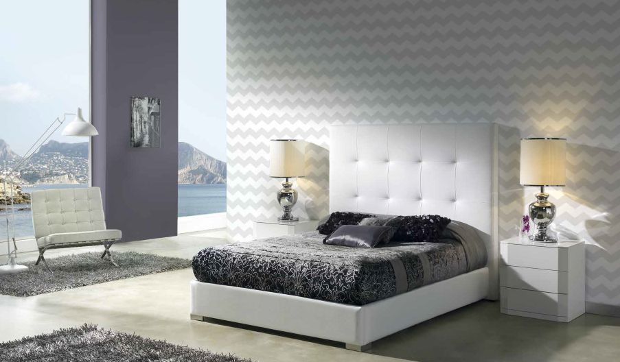 Modernūs miegamojo baldai Patricia