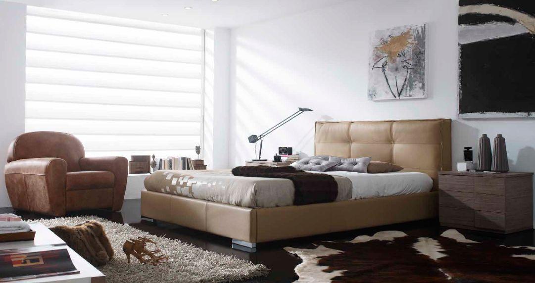 Modernūs miegamojo baldai Rio