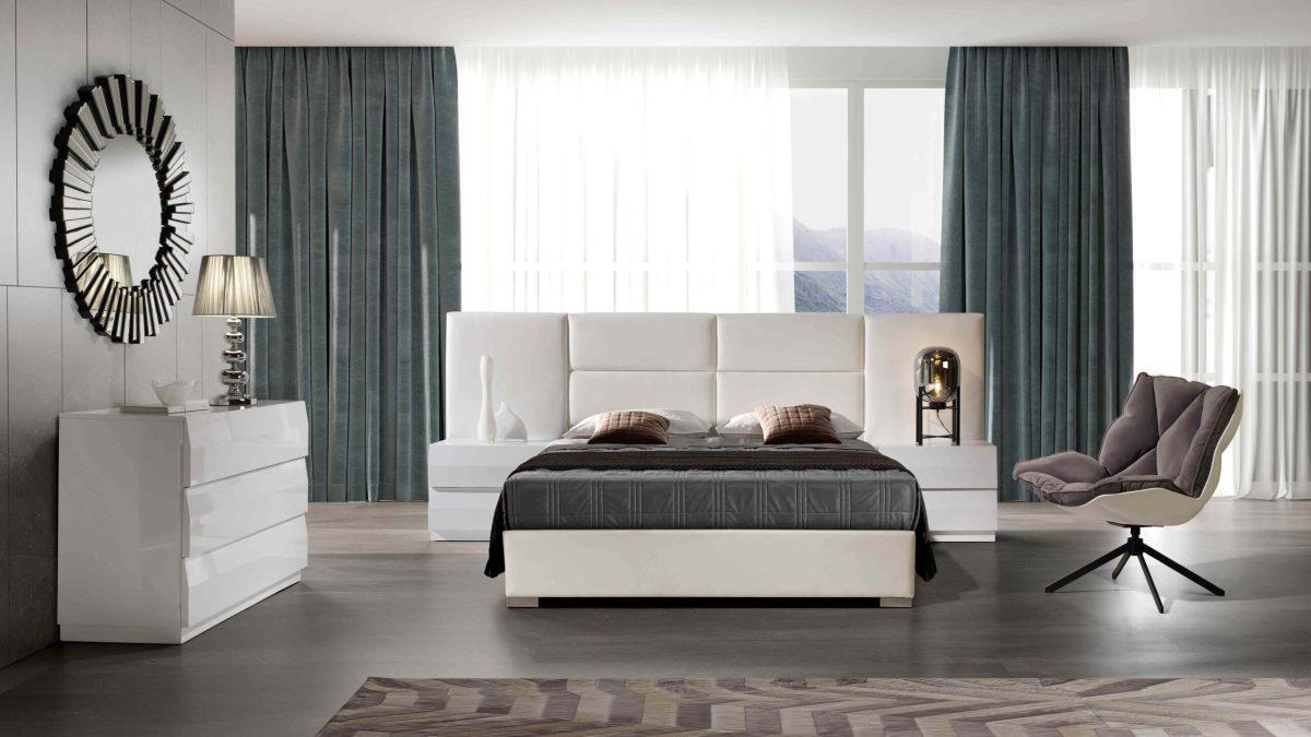 Modernūs miegamojo baldai Sara 1