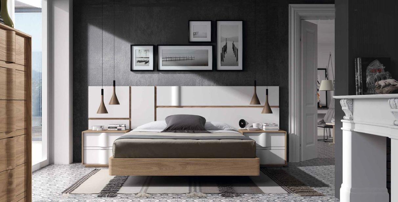 Modernūs miegamojo baldai Soft 025