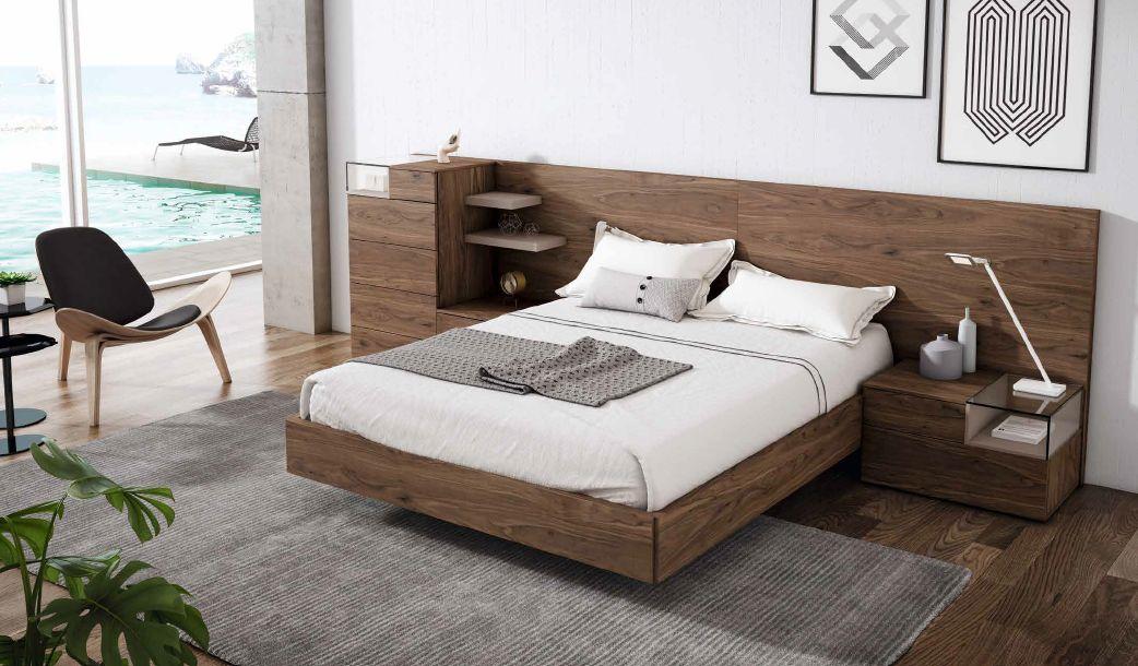 Modernūs miegamojo baldai Soft 030