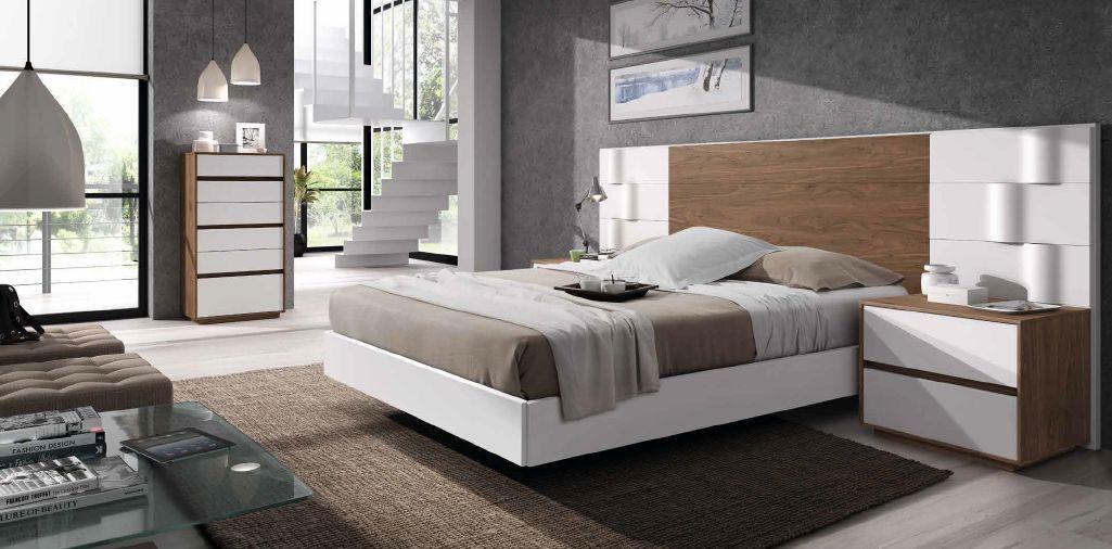 Modernūs miegamojo baldai Soft B 027