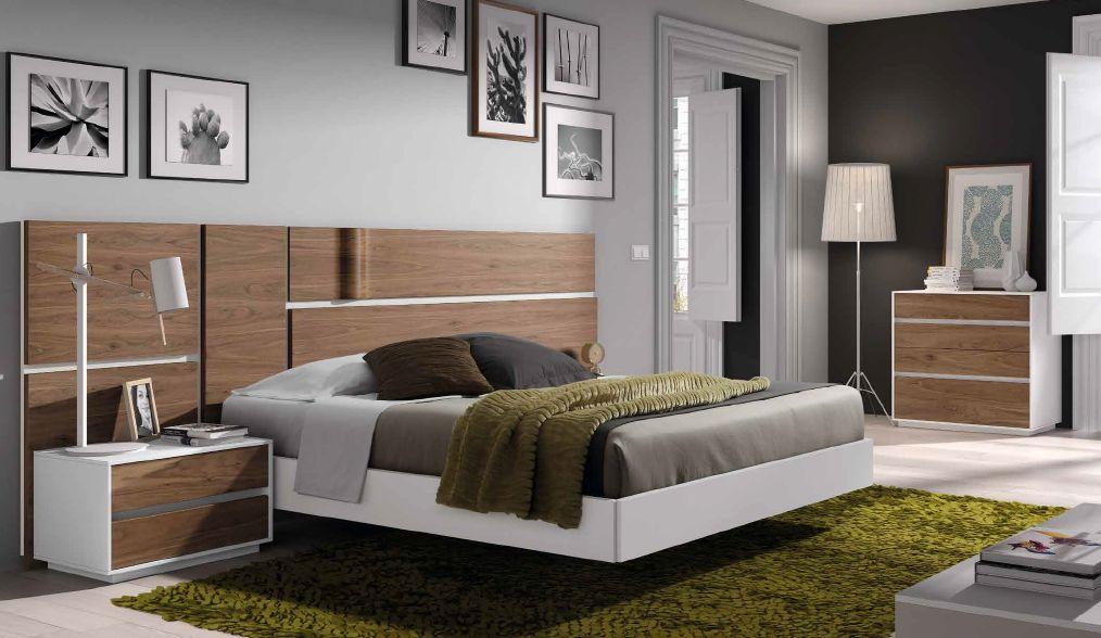 Modernūs miegamojo baldai Soft R 026