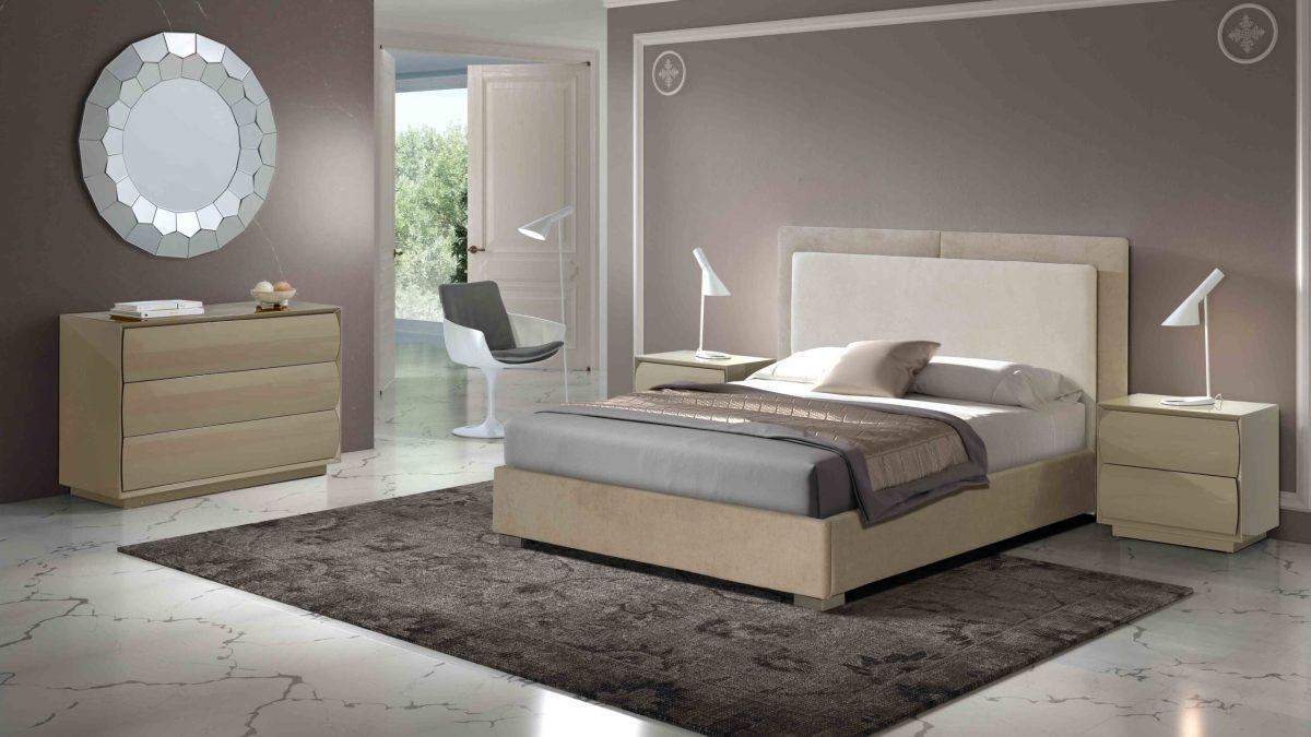 Modernūs miegamojo baldai Telma