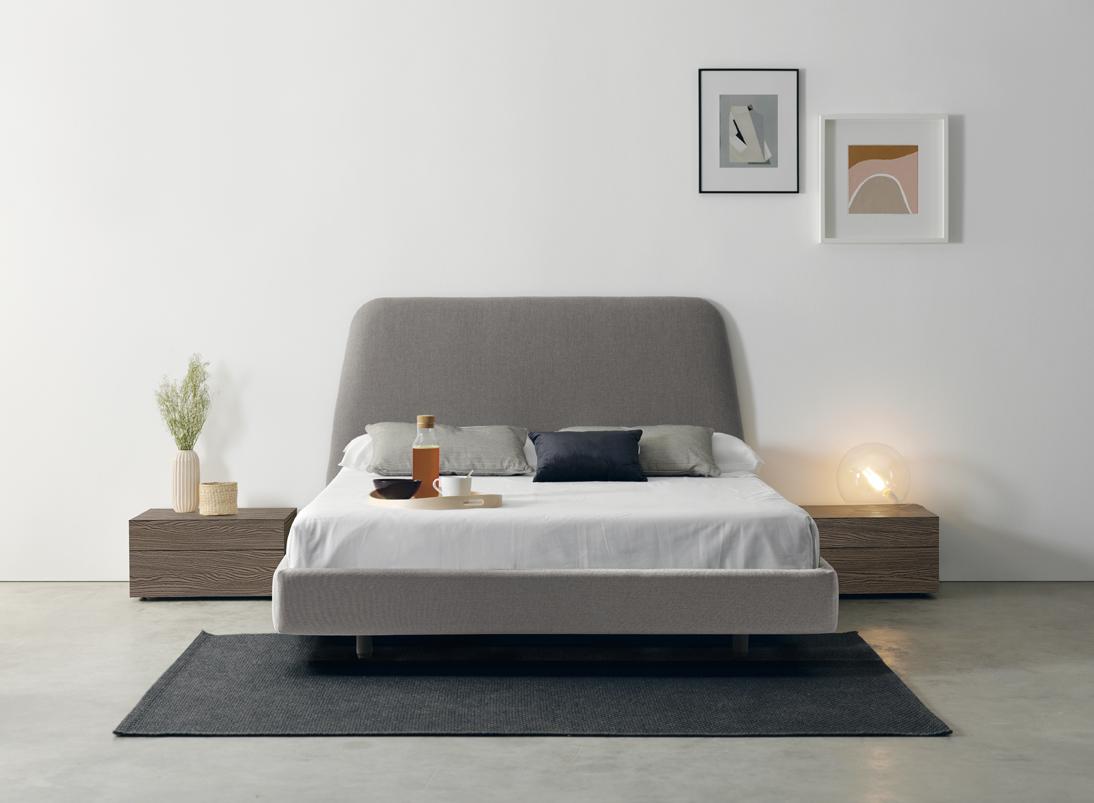 Modernūs miegamojo baldai Trapez 2