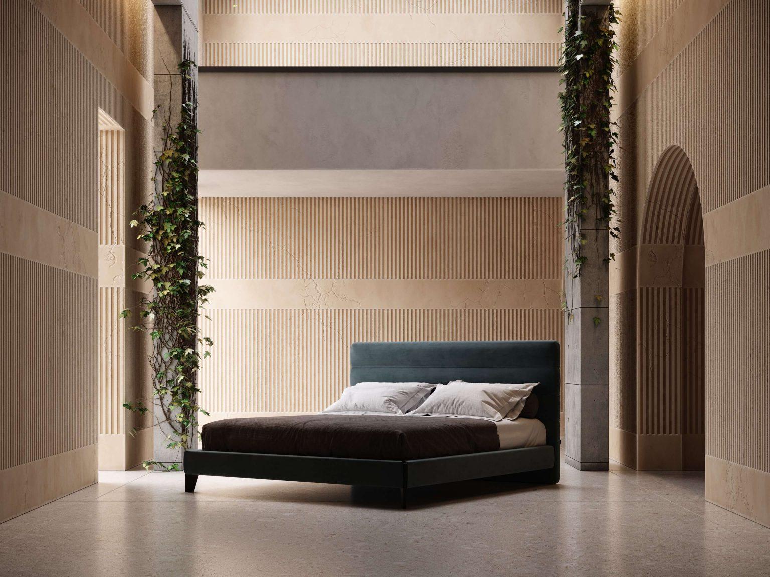 Modernūs miegamojo baldai Yumi