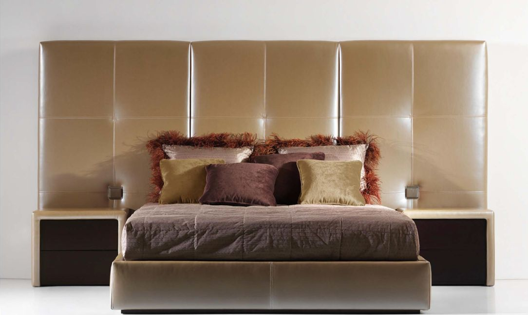 Modernūs miegamojo baldai Zinner
