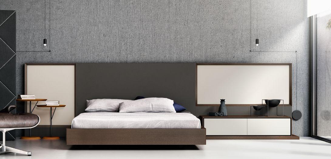 Modernūs miegamojo baldai comp. 02.2