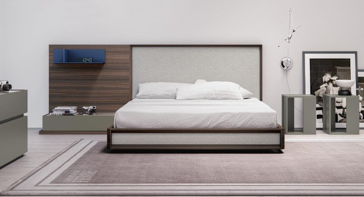 Modernūs miegamojo baldai comp. 03