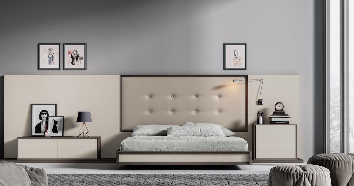Modernūs miegamojo baldai comp. 06