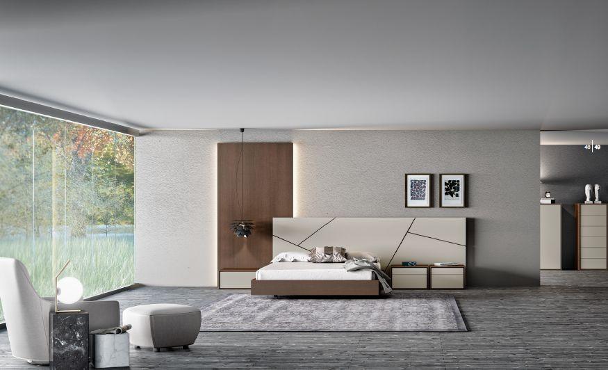Modernūs miegamojo baldai comp. 07