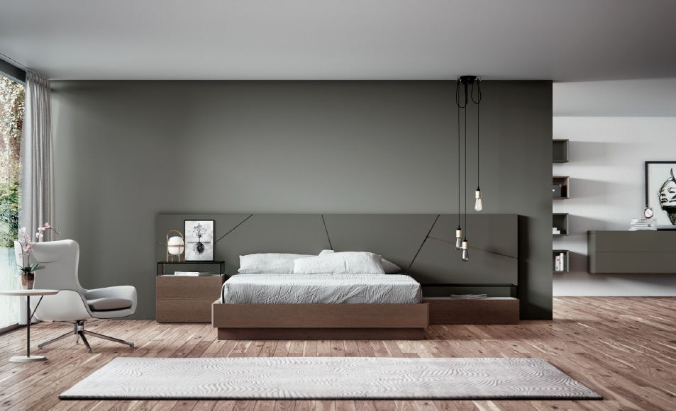 Modernūs miegamojo baldai comp. 08