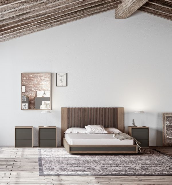 Modernūs miegamojo baldai comp. 13.1