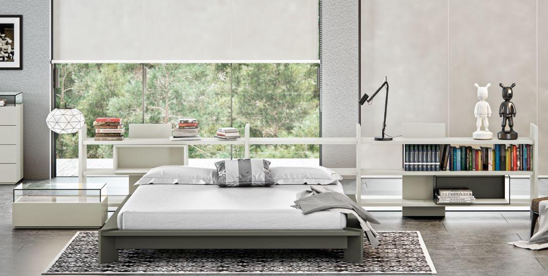 Modernūs miegamojo baldai comp. 19.1