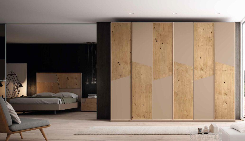 Modernūs miegamojo baldai spinta Dynamic