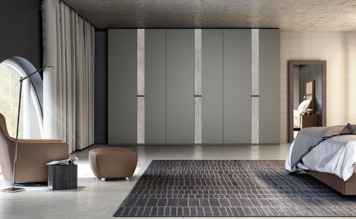 Modernūs miegamojo baldai spinta EME 2