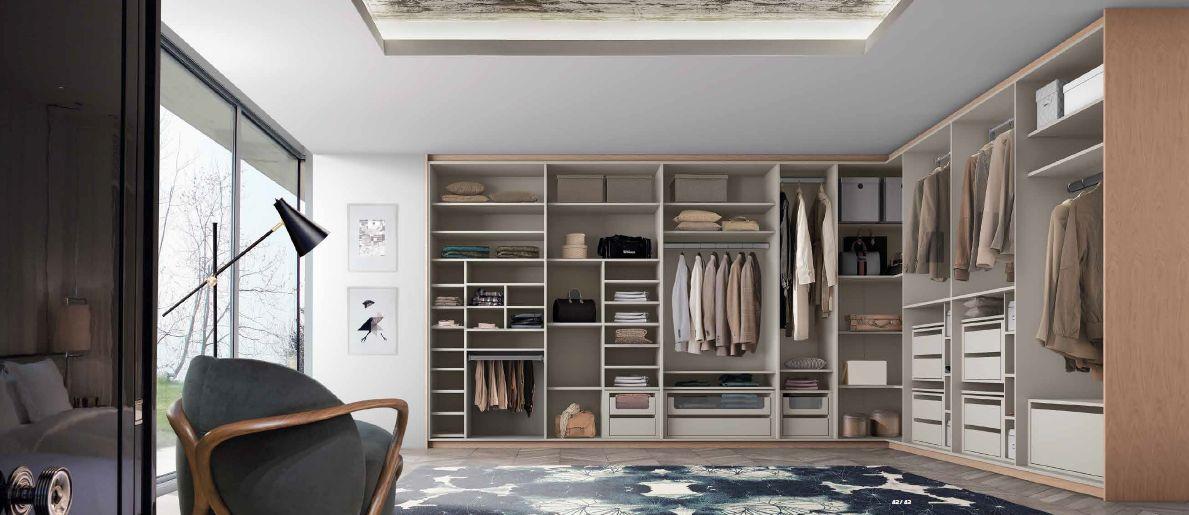 Modernūs miegamojo baldai spinta Europa 14