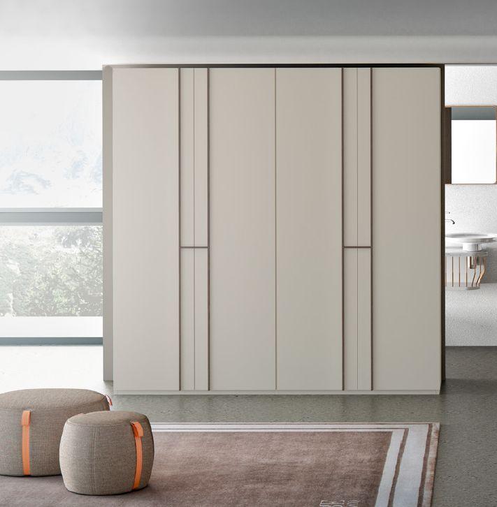 Modernūs miegamojo baldai spinta MIKADO 6