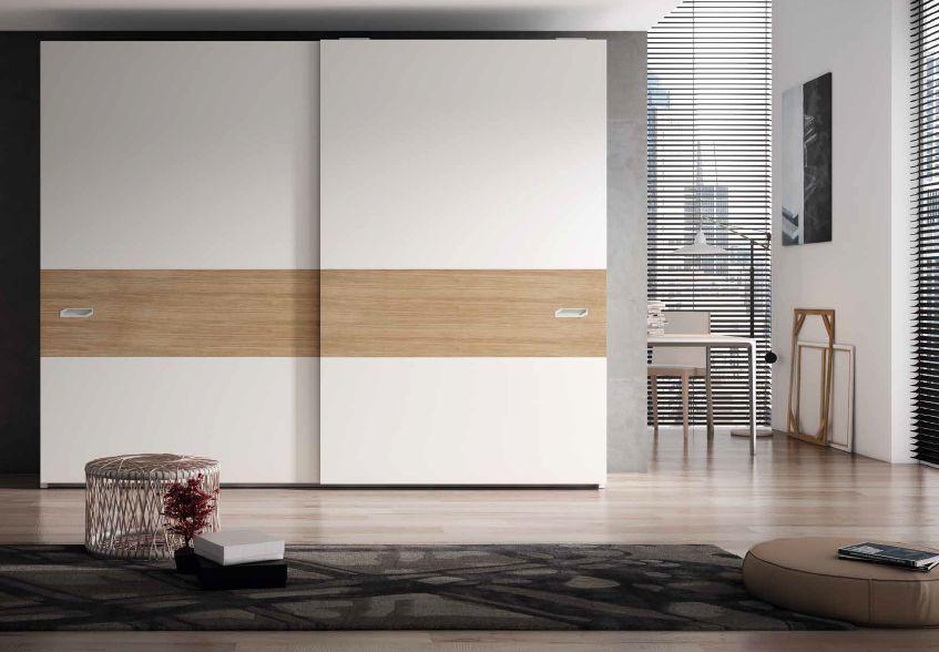 Modernūs miegamojo baldai spinta Shape 2