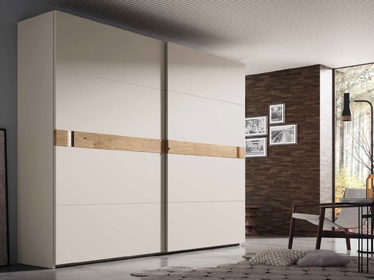 Modernūs miegamojo baldai spinta Trama 2