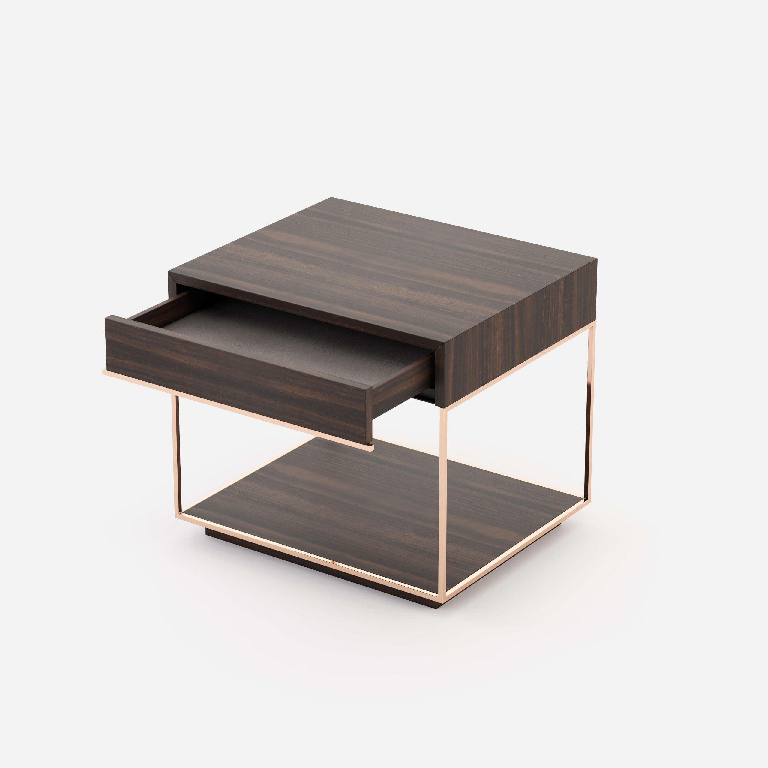 Modernūs miegamojo baldai spintelė Grazi 6