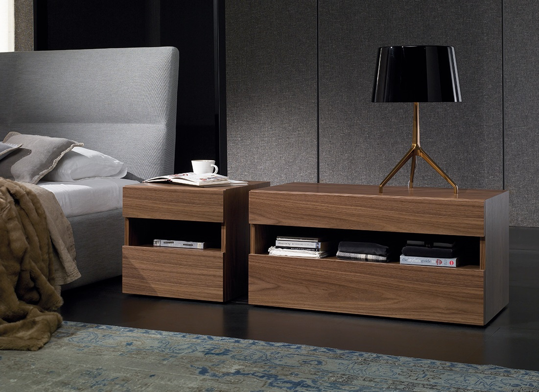 Modernūs miegamojo baldai spintelės Duplex_01