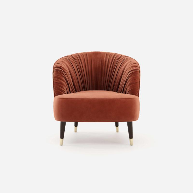 Modernios klasikos fotelis Camille 5