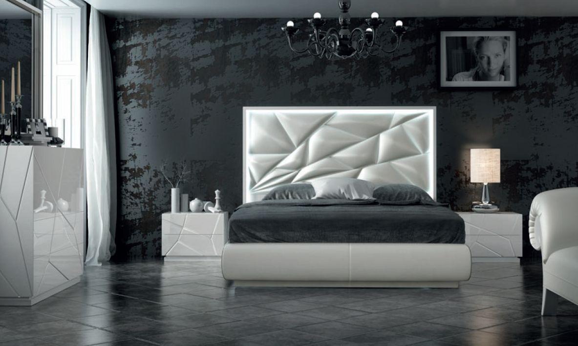 Modernūs miegamojo baldai Avanty Ex 15