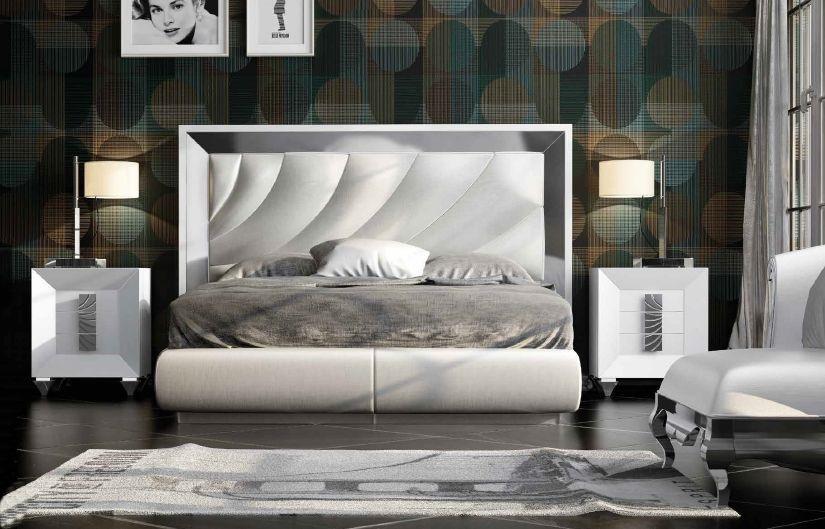 Modernūs miegamojo baldai Dor 108