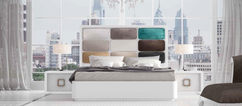 Modernūs miegamojo baldai Dor 172