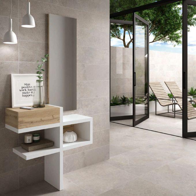 Modernūs prieškambario baldai konsolė Oslo 11