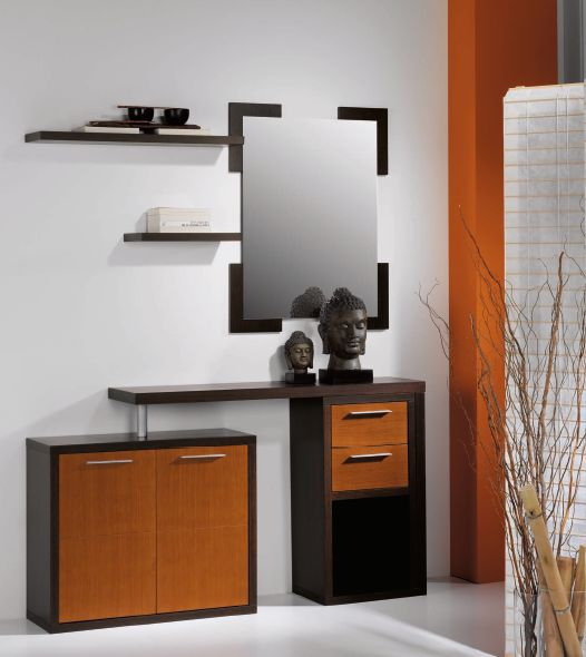 Modernūs prieškambario baldai Cubic 001K