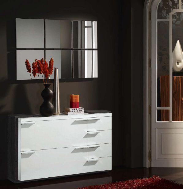 Modernūs prieškambario baldai batų dėžė Concept 310.1